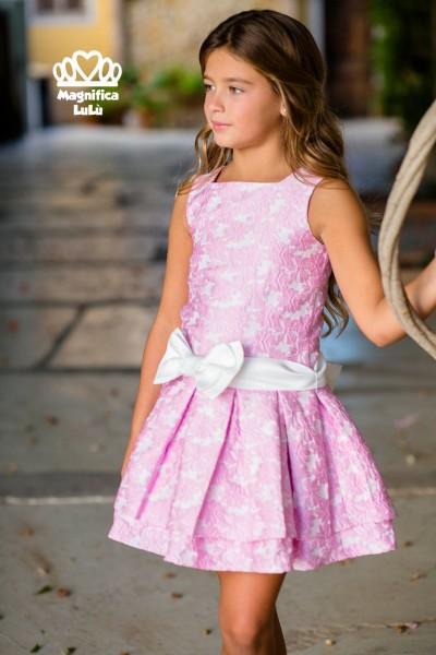 vestido estampado ceremonia niña