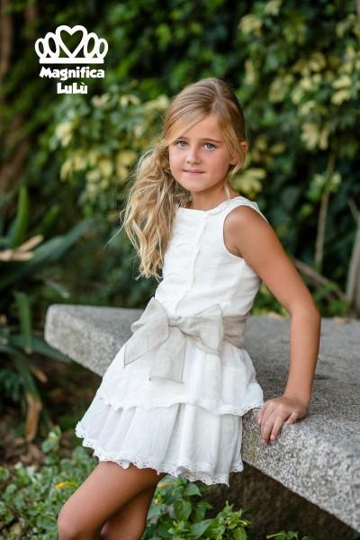 Conjunto infantil tejido natural